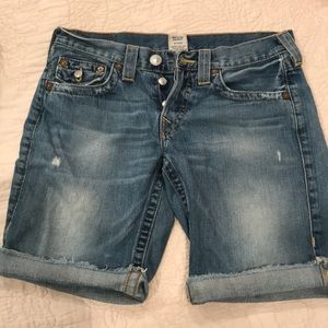 True Religion denim Riley sz 27.  Mint